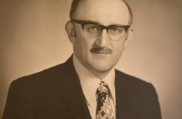 Photo of Morris Shanker when he joined the CWRU faculty