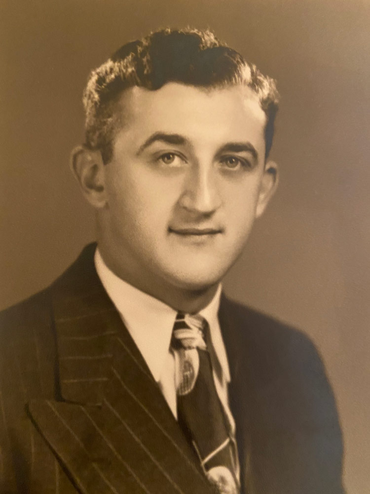 Photo of Morris Shanker when he started his law firm