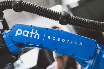 Photo of a Path Robotics automated welder