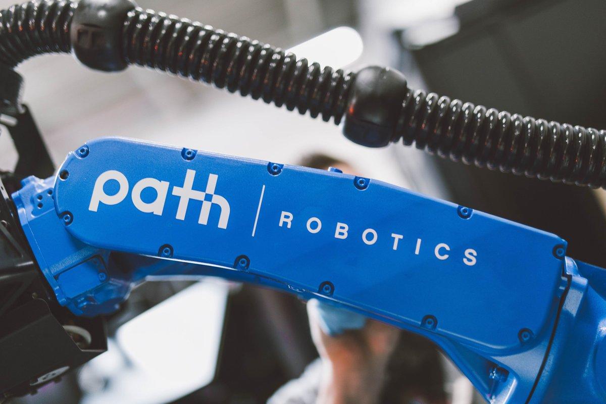 Photo of a Path Robotics automated welder