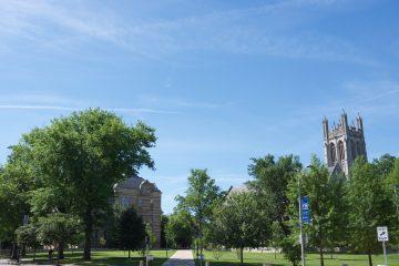 Photo of campus quad