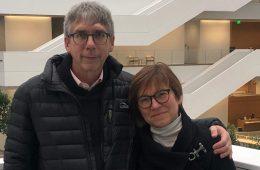 Photo of John and Catherine Seibyl in the Samson Pavilion