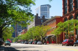 Warehouse District Cleveland