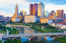 Photo of the Columbus skyline