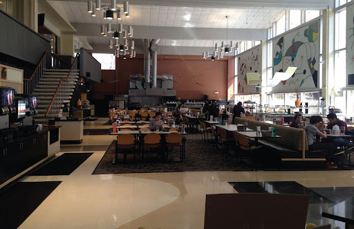 Photo of the former interior of Fribley Commons