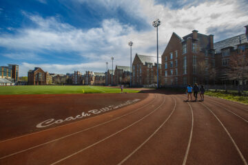 CWRU's track and football field