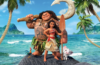 Image of a young Polynesian woman standing next to a man