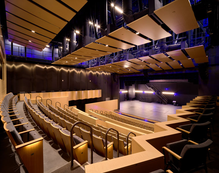 Photo of the Roe Green Proscenium Theatre