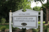 East Cleveland Township Cemetery sign